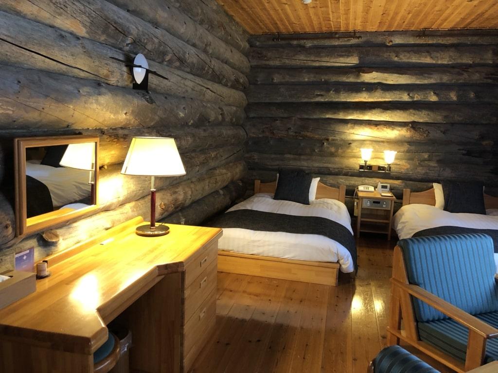 メープルロッジ寝室