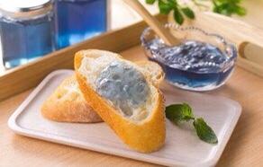 青い食べ物‐ジャム